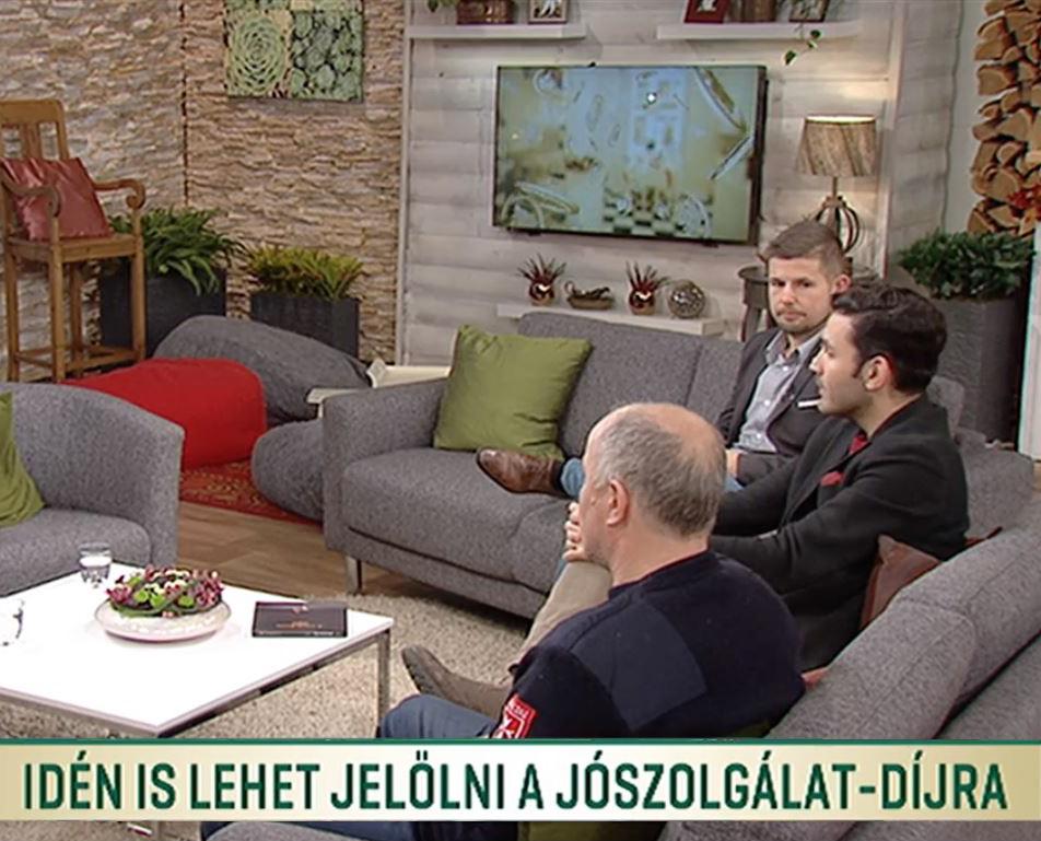 Duna TV - Család-barát magazinműsor: Idén is lehet jelölni a Jószolgálat-díjra