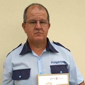 Jószolgálat-díjjal jutalmazták a gyulai polgárőrt