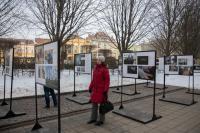 Debrecenben a Jószolgálat-díj kiállítása Fotó: Miskolczi János