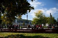Évad- és kiállításmegnyitó rendezvény, 2017. október 4. Fotó: Origo / Polyák Attila