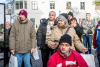 Székesfehérvárra érkezett a Jószolgálat-díj szabadtéri kiállítása Fotó: Bognár Ádám Balázs