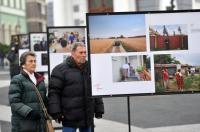 Kaposvárra érkezett a Jószolgálat-díj szabadtéri kiállítása Fotó: Lang Róbert
