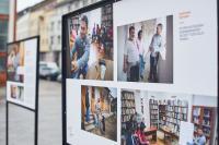 Nyíregyházán a Jószolgálat-díj vándor-kiállítása Fotó: Szarka Lajos